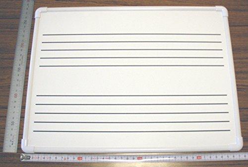五線ボード ミニ 個人ピアノ教室 約38cm×約28cm 磁石・マーカー可