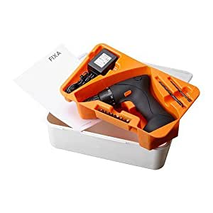 IKEA(イケア) FIXA 50203260 スクリュードライバー/ドリル、リチウムイオンバッテリー