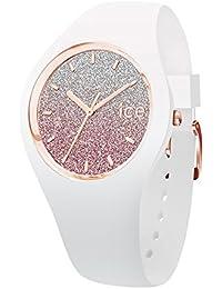 [アイスウォッチ]ICE WATCH レディース ICE lo 35mm ピンク ホワイト シリコン 013427 腕時計 [並行輸入品]