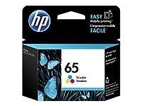HP N9K01AN#140 65 Tri-color Original Ink Cartridge (N9K01AN) [並行輸入品]