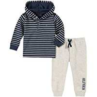 Tommy Hilfiger Boys' Toddler 2 Pieces Hooded Pants Set