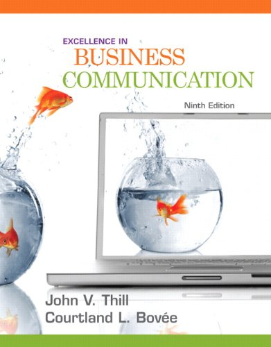 Download Excellence in Business Communication 0136103766