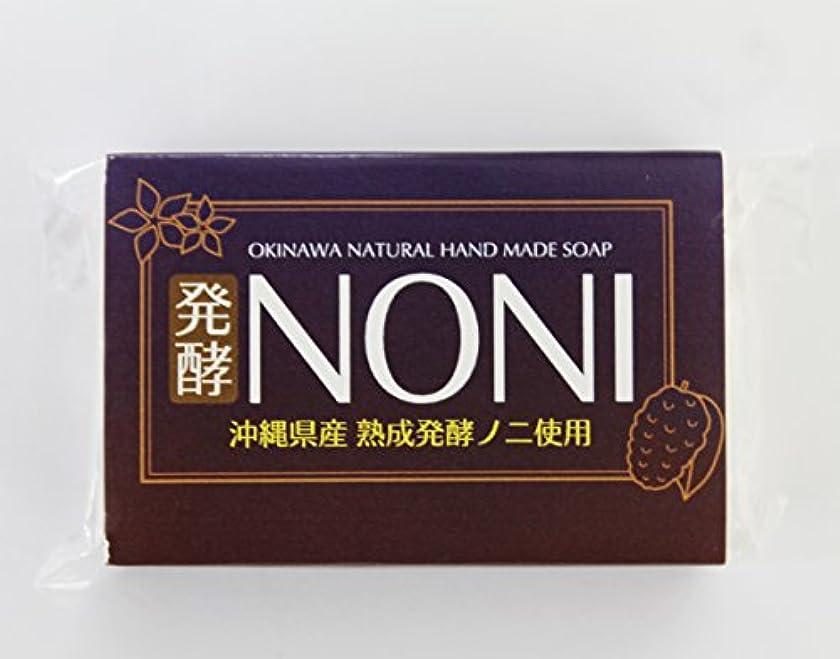 沖縄 手作り ナチュラル洗顔 NONI石鹸 100g×30個 GreenEarth 発酵ノニを使用した保湿力の高いナチュラルソープ