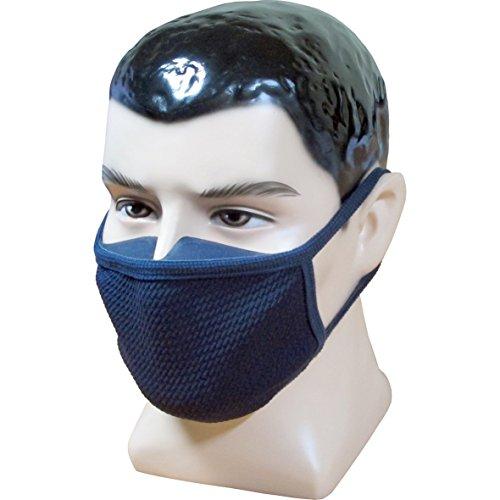 FOGUARD 3Dシリコンマスクイエローダストマスクファインダストマスク防曇マスク - 自転車、ジョギング、登山、アウトドアアクティビティに最適 in BLUE - ユニバーサルサイズ