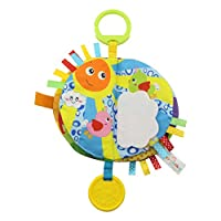 ACHICOO おもちゃ ラット 教育用 引き裂き抵抗 玩具初期 カラフル 布 赤ちゃん用  スカイシリーズ