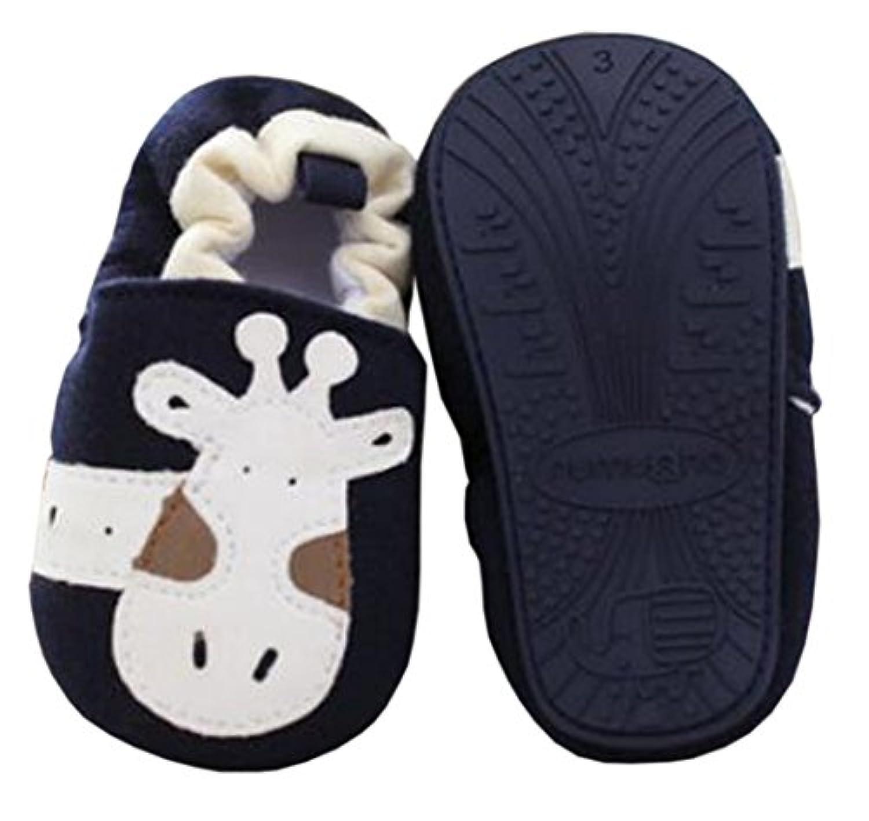 ベビーファーストウォーカーソフトソールコットンの幼児の靴ブルーキリン