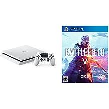 PlayStation 4 グレイシャー・ホワイト 500GB (CUH-2200AB02)+ Battlefield V (バトルフィールドV) - PS4 セット