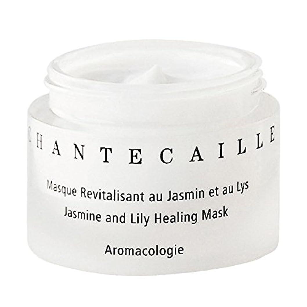 グッゲンハイム美術館デイジー欠かせないシャンテカイユのジャスミンとユリ癒しのマスク、シャンテカイユ x2 - Chantecaille Jasmine and Lily Healing Mask, Chantecaille (Pack of 2) [並行輸入品]