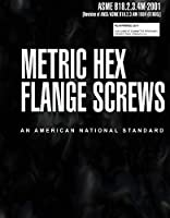 ASME B18.2.3.4M-2001: Metric Hex Flange Screws [並行輸入品]
