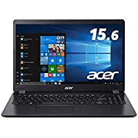 AcerノートパソコンAspire 3 A315-56-H34U/KA Core i3-1005G1 4GB 256GB SSD ドライブなし 15.6型 Windows 10 Home