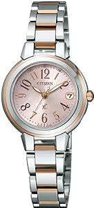 [シチズン]CITIZEN 腕時計 xC クロスシー Eco-Drive エコ・ドライブ 電波時計 ミニソル ES8034-57W レディース