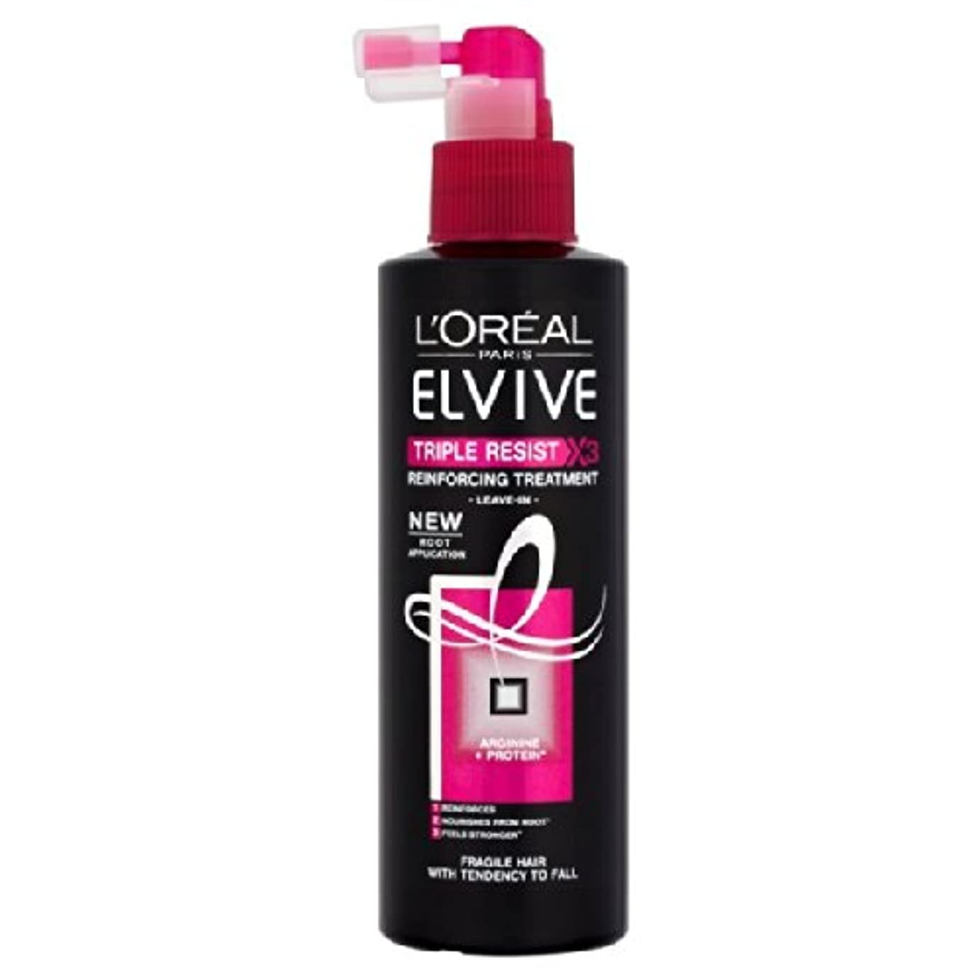 オーナー警告するディレクターL'Oreal Elvital Leave-in Cond Spray 200ml Triple-Resist