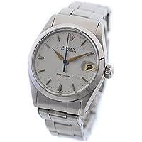 ROLEX(ロレックス) オイスター デイト ボーイズ 腕時計 手巻き シルバー ウォッチ 8番台 6466 [中古][並行輸入品]