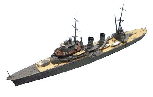アオシマ1/700 ウォーターラインNo.356 軽巡洋艦 香椎