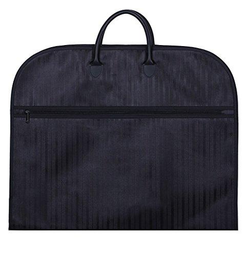 スーツ用ガーメントバッグ ブラック