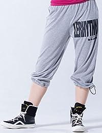 ダンスパンツ ダンスウェア フィットネスウェア 衣装 7分丈 スウェット パンツ レディース メンズ キッズ le-Rhythm リアリズム ヒップホップ ハーフパンツ(1SW08)