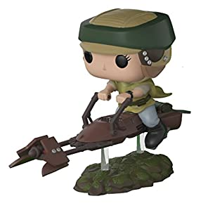 Funko POPデラックス:レイアon Speeder BikeスタイルMay Vary Collectible Vinyl Figure