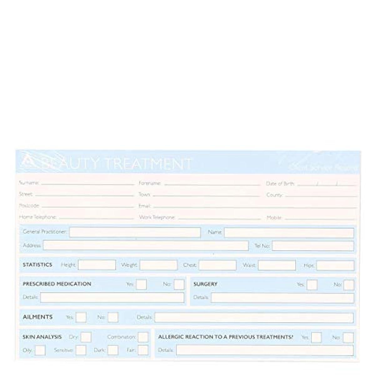 アラーム格差場所記録カード Record Cards- BEAUTY TREATMENT[海外直送品] [並行輸入品]