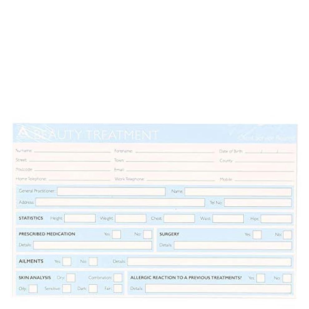 風穿孔する記録カード Record Cards- BEAUTY TREATMENT[海外直送品] [並行輸入品]