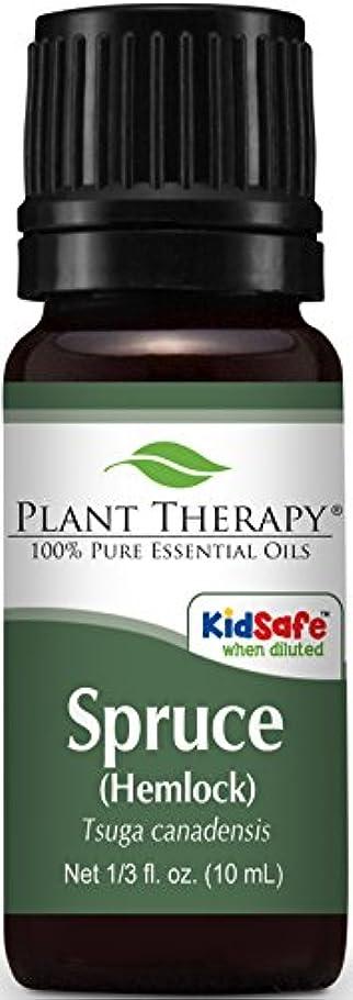 ウサギ風が強いコンテストSpruce (Hemlock) Essential Oil. 10 ml (1/3 oz). 100% Pure, Undiluted, Therapeutic Grade. by Plant Therapy Essential Oils