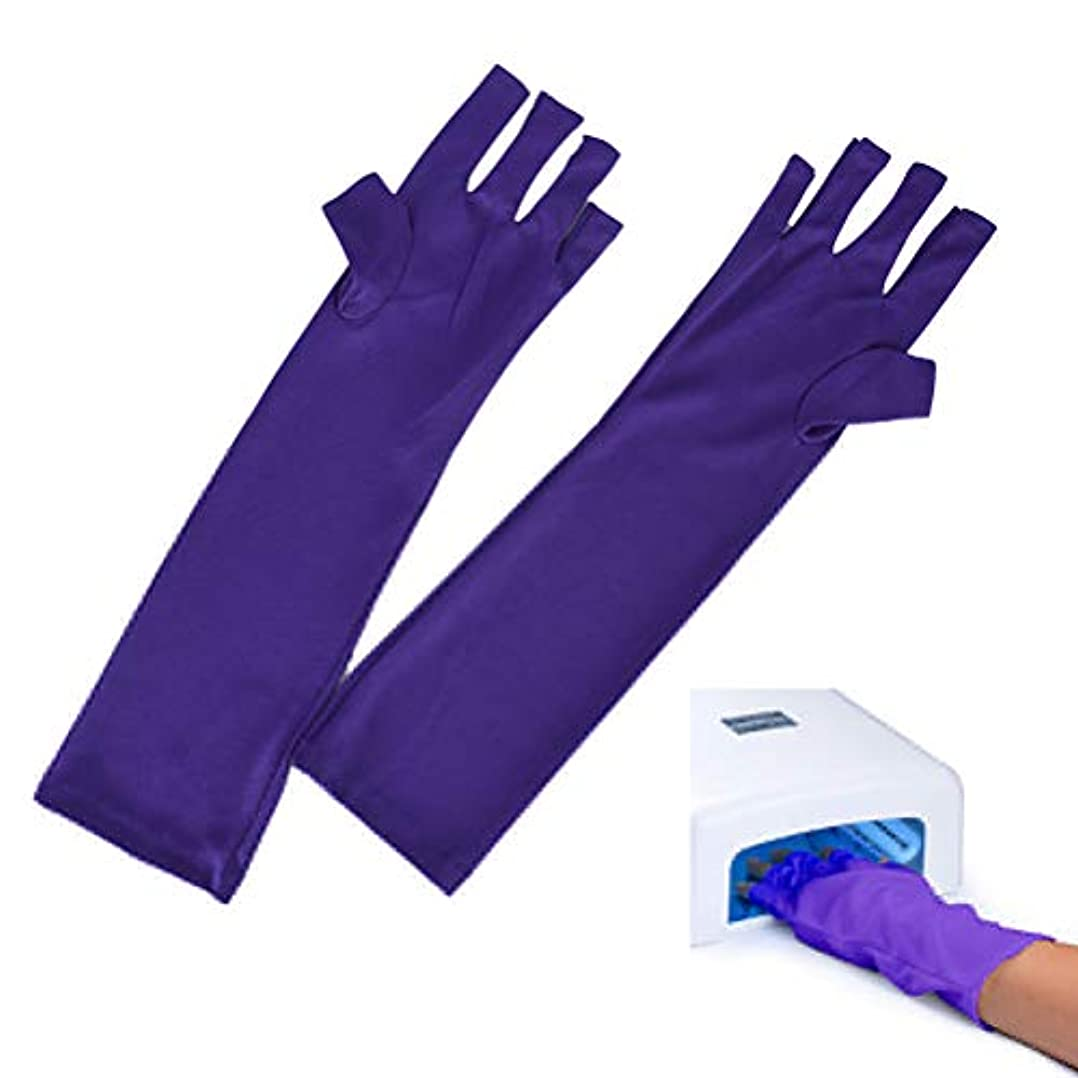非常にアンプ呪われたAnti UV Glove for Nail Dryer UV Light Lamp Radiation Protection Hand Skin Protection Gloves Nail Art Dryer Tools...