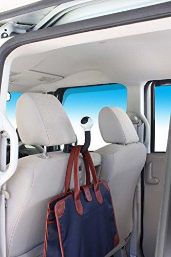 ナポレックス 車用収納フック ポールフック 耐荷重5kg ジャケット等の簡易ハンガーとしても 汎用 Fizz-997