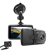 MITSUBISHI ギャラン EA・EC系 ドライブレコーダー 1080P Full HD 120度高画質広視野角 3.0インチ 1080PフルHD緊急録画 防犯カメラ/駐車監視/動体検知/G-sensor機能/ループ録画 12v SDカードなし