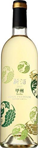 日本ワイン ジャパンプレミアム 甲州 新酒 2017 750ml