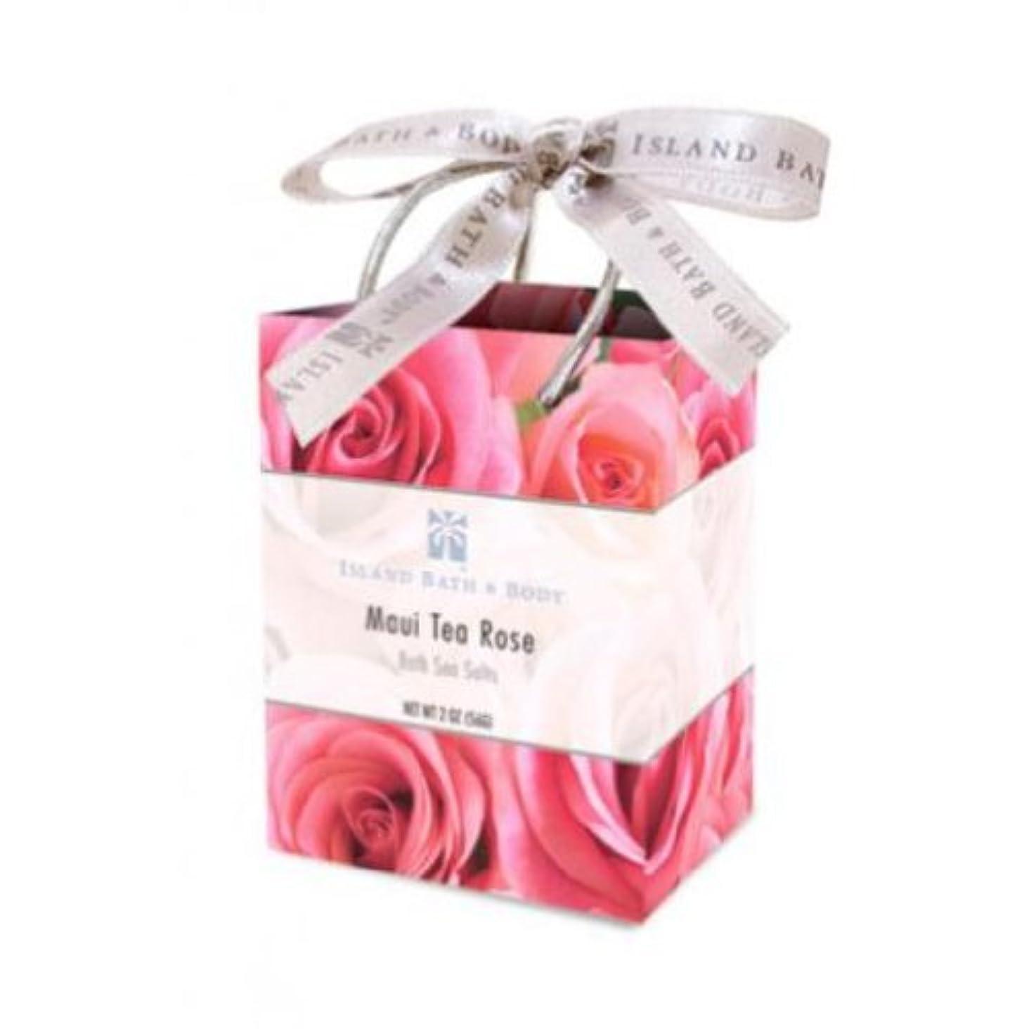 混沌状固めるバスシーソルト/Maui Tea Rose