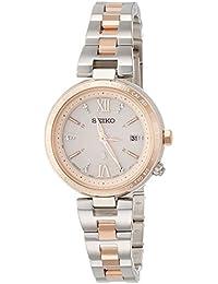 [ルキア]LUKIA 腕時計 メインマスコミモデル 耐ニッケルアレルギー ソーラー電波修正 サファイアガラス 10気圧防水 SSQV014 レディース