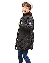 fd9679e75cbd0 Yusoi 中綿 ジャケット こども コート 子供服 ジュニア キッズ 防寒 暖かい KIDS 女児 ...