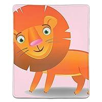 マウスパッド レーザー&光学式マウス対応 漫画のライオン