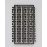 プラモブロック シート1×2 グレーGY