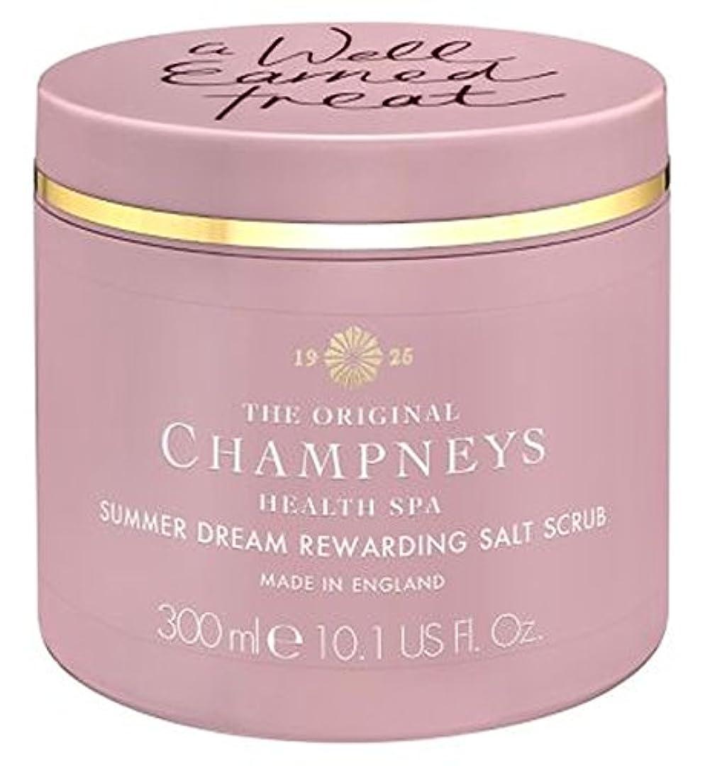 パンダそれる無限チャンプニーズの夏の夢やりがいの塩スクラブ300ミリリットル (Champneys) (x2) - Champneys Summer Dream Rewarding Salt Scrub 300ml (Pack of 2...