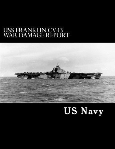 USS Franklin CV-13 War Damage Report