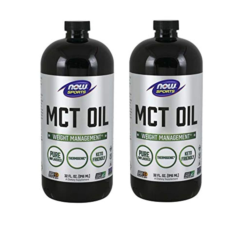 言い訳のれんジャングル[海外直送品] ナウフーズ 【2個セット】MCTオイル(中鎖脂肪酸トリグリセリド)32オンス