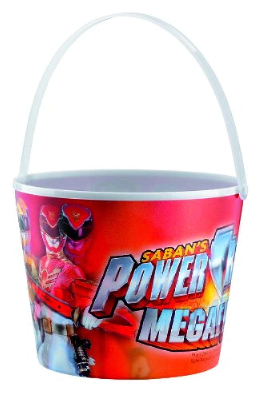 Power Ranger Megaforce Candy Bucket パワーレンジャーメガフォースキャンディバケツ?ハロウィン?クリスマス?