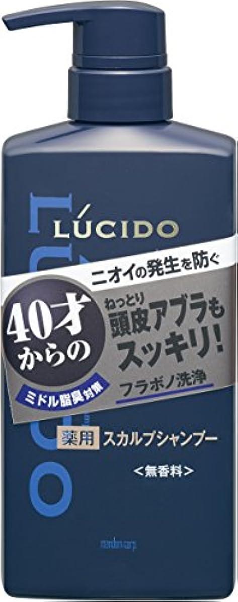折り目大騒ぎ優雅なルシード 薬用スカルプデオシャンプー (医薬部外品)