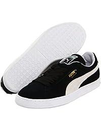 [PUMA(プーマ)] メンズランニングシューズ?スニーカー?靴 Suede Classic Black/White Men's 12 (30cm) Medium