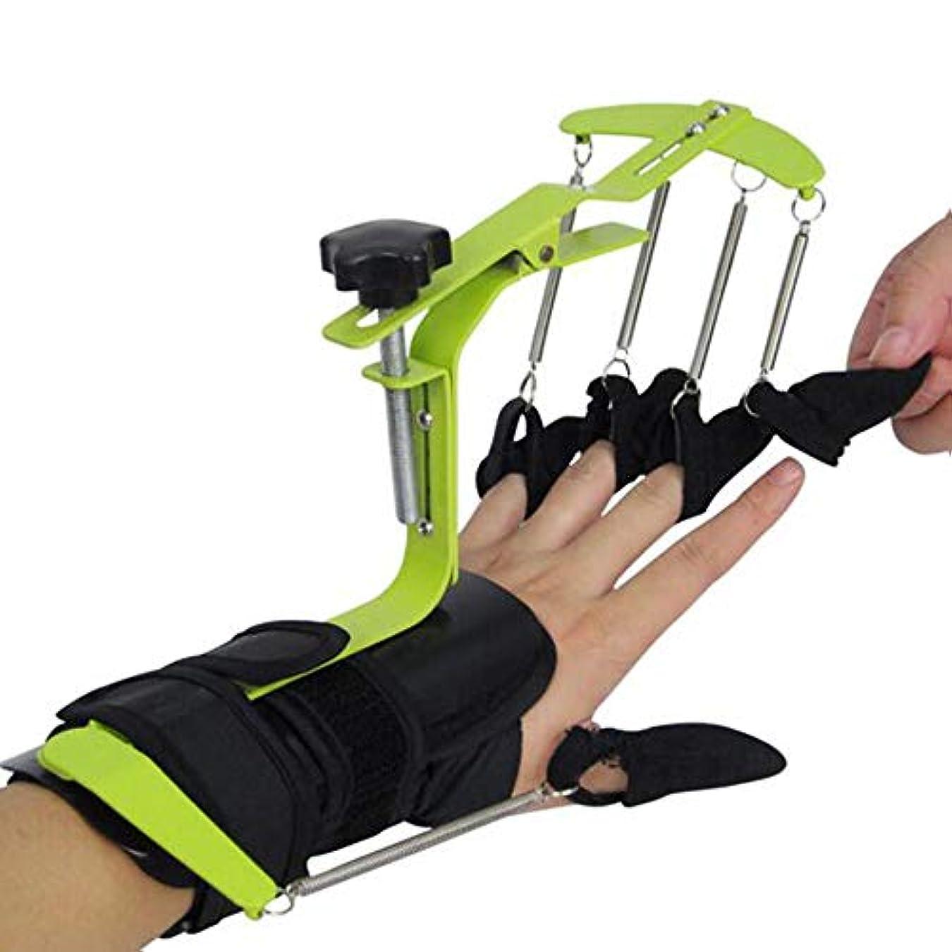 一致する普遍的なサイレント片麻痺性脳性麻痺リハビリテーションのために機能する指の訓練装置訓練装置ブレースボード別々の親指手首ブレース手