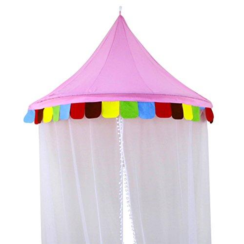 Baoblaze スクリーンカーテン テント 寝室の装飾 キ...