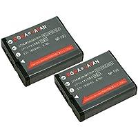 【ロワジャパンPSEマーク付】【2個セット】 CASIO カシオ Exilim EX-ZR200 EX-ZR300 EX-ZR400 EX-ZR700 EX-ZR800 の NP-130 互換 バッテリー