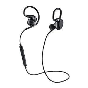 サンワダイレクト Bluetoothイヤホン 防水 apt-X 高音質 外れにくいイヤホン 最大8時間再生 Bluetooth4.1 通話対応 400-BTSH005