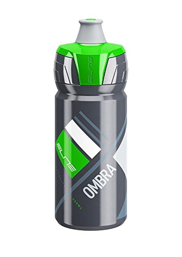 浸漬最少西ELITE(エリート) OMBRA GRY/GRN 550 ?径:74mm ?容量:550ml サイクリングボトル