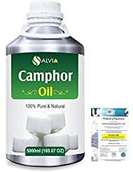 Camphor (Cinnamonutn camphora) 100% Natural Pure Essential Oil 5000ml/169fl.oz.