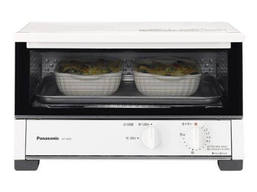 パナソニック オーブントースター ホワイト NT-W30-W