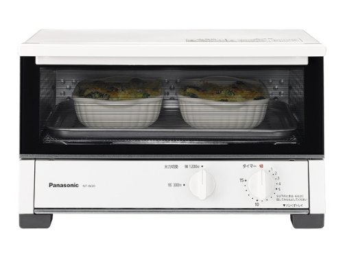 RoomClip商品情報 - パナソニック オーブントースター ホワイト NT-W30-W
