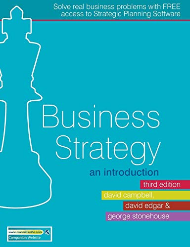 Download Business Strategy: An Introduction 023021858X