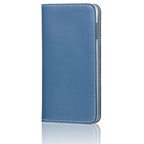 HAKUBA iPhone8 Plus / iPhone7 Plus ケース (5.5インチ) 手帳型 fineseed  本革 高級スムースレザー 熟練の財布職人仕立て ネイビー PC-SLCIP7PNVの詳細を見る