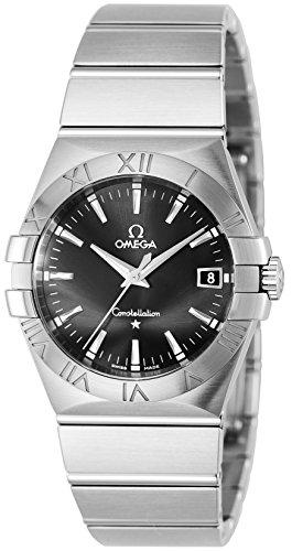 [オメガ]OMEGA 腕時計 コンステレーション ブラック文字盤 123.10.35.60.01.0...